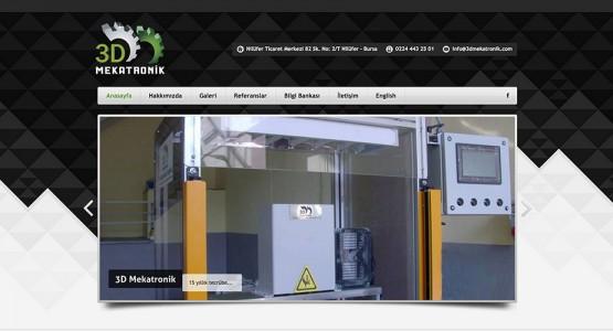 3dmekatronik web sitesi