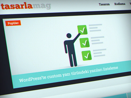 Tasarlamag.com web tasarım ve Wordpress tema geliştirme