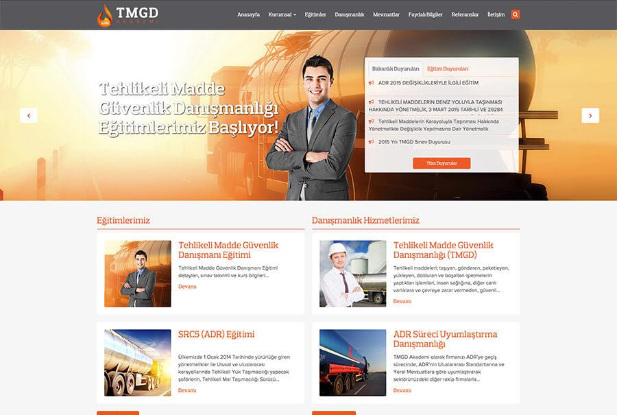 TMGD Akademi web tasarım ve Wordpress tema geliştirme