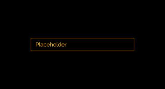 Placeholder rengini değiştirme